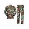 China Multi Camo Acu Army Combat Uniform With 5.5 Hidden Pocket , Law Enforcement Uniforms wholesale