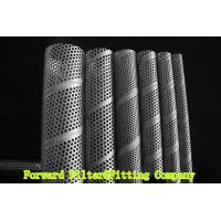 Buy cheap SUS304 / 304L SS Perforated Metal Tube , Filtration / Separation Tubes For Water Treatment from wholesalers