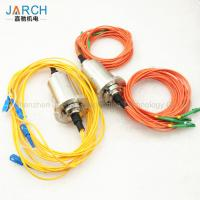 China Double Channel Fiber Optic Rotary Joint / Fiber Optic Cable Joint With Stainless Steel House wholesale