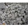 China Natural Silver Grey Natural Granite Paving Slab For Driveway Covering wholesale