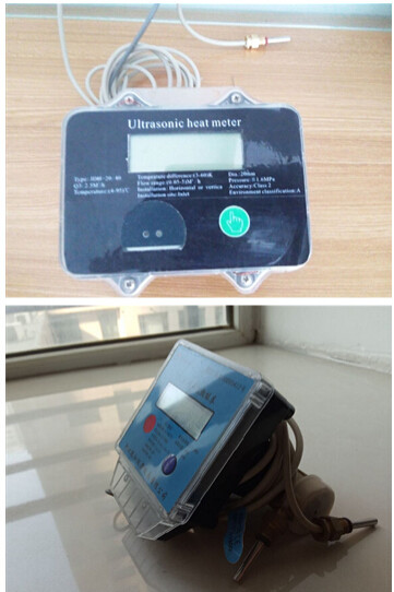 Quality DN20mm Smart Household Ultrasonic Heat Meter With M-BUS / R-485 Remote System for sale