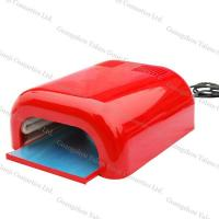 China Professional Red 36W UV Nail Lamp Dryer With Harmless 4 * 9W Bulb For Artificial Nails wholesale