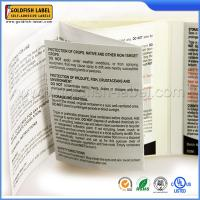 double layer label sticker
