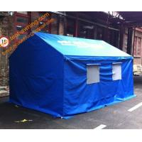 China 3x4m Outdoor Steel Framed  Waterproof  Disaster Relief Tent Refugee Tent wholesale