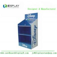 3 Tiers Cardboard Display Rack , Shop Retail Product Promotional Display Stands