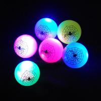 Customized Red and Blue Flashing Bouncing Ball For Children EN71, CE SR-00108