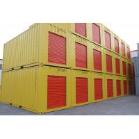 China colorful  qingdao rayfore 20ft  rolling shutter storage container wholesale