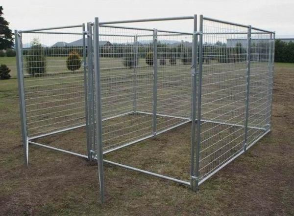 Used Chain Link Dog Kennel Sale