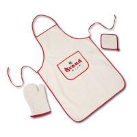 China Promotional Cotton Kitchen Wears Aprons For Man & Woman Custom Color Available wholesale
