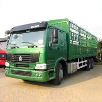 China Green 6 X 4 371HP Heavy Duty Trucks 40 Tons One Bed Loading To Transport Cargo wholesale