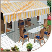 Outdoor Manual or Motorized Remote Control Retractalbe Awning