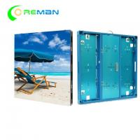 China Rental P4 P5 Outdoor Full Color LED Screen 64x64 96x96 Brushed Aluminum Made wholesale