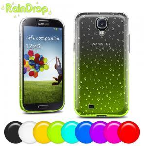 China Couvertures de téléphone portable de Samsung de conception de goutte de pluie pour la caisse arrière protectrice de la galaxie S4 wholesale
