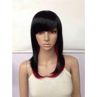 China Long Straight Synthetic Wigs wholesale