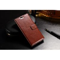 China Slim Fit Sony Xz Leather Case Wallet Crazy Horse PU For Drop Protection wholesale