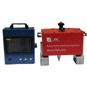 China Blue Portable Dot Peen Marking Machine For Vin Code 110V - 220V , Portable Dot Peen Marker wholesale
