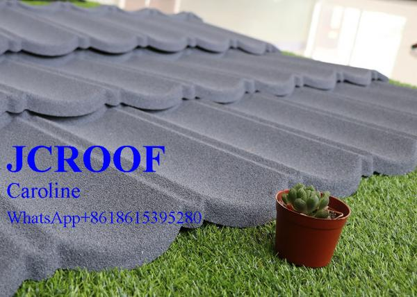Quality Building Material Stone Coated Roofing Tiles Spanish Type with ISO Certificate for sale