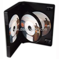 China 14mm 6 disc DVD case soft PP CD case,plastic CD box with tray on sale