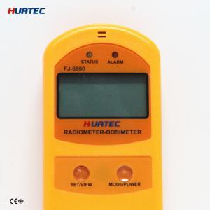 Buy cheap Радиация, мягких и трудных β радиометра дозиметра FJ-6600 почвы рентгеновского с from wholesalers