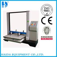 China Microcomputer Container Carton Compression Tester With 1/100000 Resolution wholesale