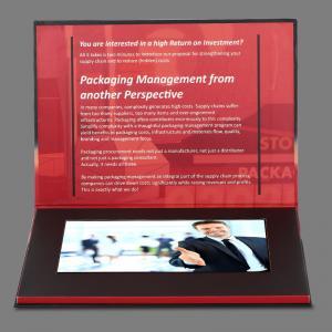 Buy cheap Propaganda cartões video video do cartão do folheto do Lcd de 7 polegadas/Lcd from wholesalers