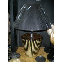China Hand Paint Resin Art Deco Table Lamps for Hotel Wholesale on sale