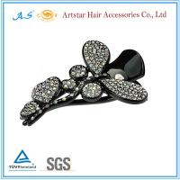 China Flower hair clips,crystal rhinestone hair clips, beautiful hair clips for wedding wholesale