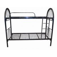 China Wire mesh metal bunk bed, cheap school bunk bed, metal bed frame wholesale