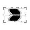China Electronic Foil Strain Gauge HA-B , Electrical Resistance Strain Gauge wholesale