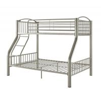 China OEM ODM White Bunk Beds HD-941 Classic Design  Easy To Assemble Strong Structure wholesale