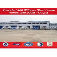 China Easy Assembly Bonded Prefabricated Warehouse Light Steel Fast Construction wholesale