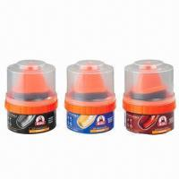China Shoe Polish with Label Stickers, Coat-protective wholesale