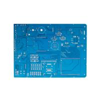 Double Sided Double Layer Pcb Board Blue Color 94V0 2.0mm Thickness