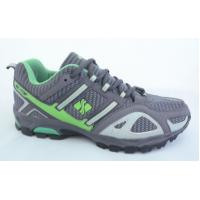 China Gray Sketcher Sports Shoes Athletic Breathable For Firm-Ground wholesale