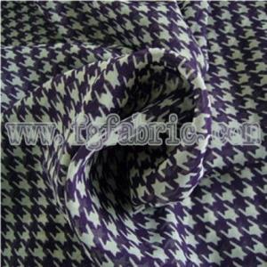 China 100% Polyester Chiffon Printed Fabric WCD-050 wholesale