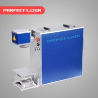 China Stainless Steel Laser Marking Machine Air Cooling With Ez - Card Control Software wholesale