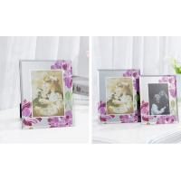 China Durable Solid Glass Wedding Photo Frames / Elegant Family Wall Art Picture Frames wholesale