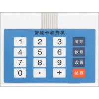 China 16 keys LED Tactile Membrane Switch Keypads For Control Board , Silk Screen Printed wholesale