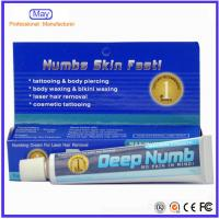 China 10g Deep. NUMB Anaesthetic Numbs Skin Fast Cream No Pain Cream For Tattoo Makeup wholesale