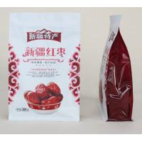 China 500g Custom Dried Fruits Stand Up Pouch Quad Seal Red Dates Package wholesale