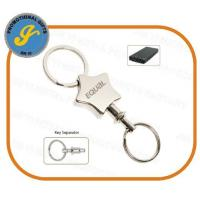 China Promotional Pull-Apart Metal Keychain wholesale