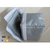 China Silicone Coated Fiberglass Fabric Actuator Thermal Insulation Jackets Materials on sale