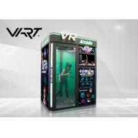China Amusement Park Rides Virtual Reality Arcade Machine 9D Vr Games For Sale on sale