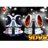 China Rotating Platform VR Chair Virtual Reality Experience 9D VR Egg Cinema wholesale