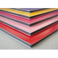 China Anodized / Brushed Aluminum Composite Panel Non Toxic Polyethylene Core wholesale
