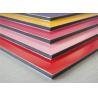China Anodized / Brushed Aluminum Composite Panel Non Toxic Polyethylene Core wholesale