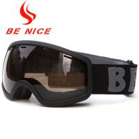 China Windproof UV400 Kids Snow Goggles TPU Frame PC Lens With Three Layer Foam wholesale