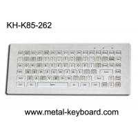 China Water resistant stainless steel Industrial Metal Keyboard without mouse , 85 keys wholesale