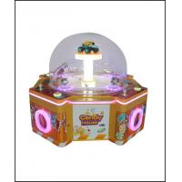 China 1-4 Players Redemption Arcade Machines Dug Sugar Candy House Yellow Color Iron Material on sale