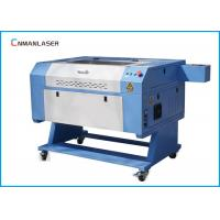 China Water Chiller 60W 80W CO2 Wood Leather Fabric Fast Speed Laser Engraving Machine wholesale